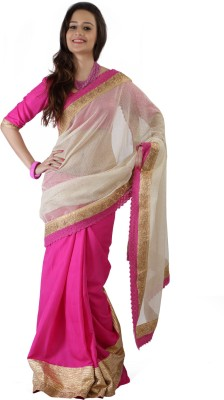 Velli Solid Fashion Cotton Sari
