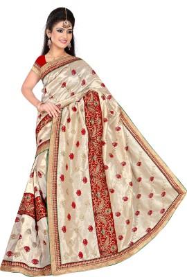 Shree Shyam Silk Embriodered Bhagalpuri Art Silk Sari