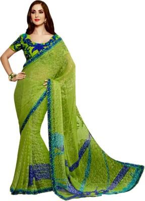 Meera Printed Fashion Georgette Sari