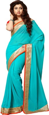 Manjaree Embriodered Fashion Georgette Sari