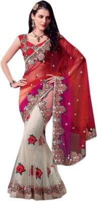 Suchi Fashion Embriodered Fashion Net Sari