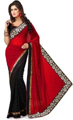Fashionista Printed Fashion Georgette Sari