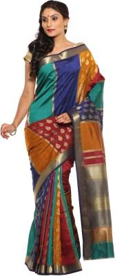 Sudarshan Silks Printed Kanjivaram Handloom Silk Sari