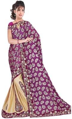 Looks & Likes Embriodered Fashion Handloom Chiffon Sari
