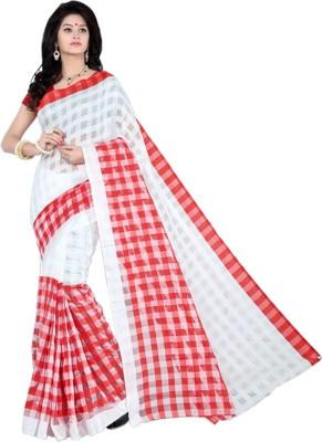 FabDesire Floral Print Bollywood Silk Sari