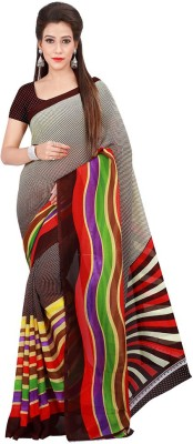 G Creation Printed Fashion Georgette Sari