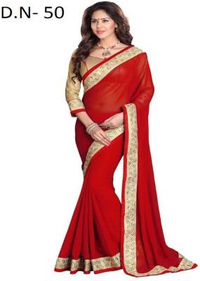 Sarees Rinkesh Self Design Fashion Georgette Sari