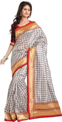 Crafts N Culture Self Design Fashion Banarasi Silk Sari