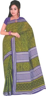 Dhammanagi Graphic Print Daily Wear Cotton Sari
