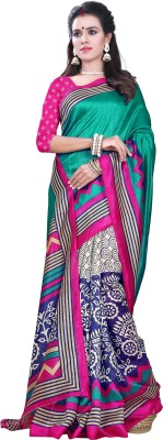 Sonakshi Sarees Striped Mysore Silk Sari