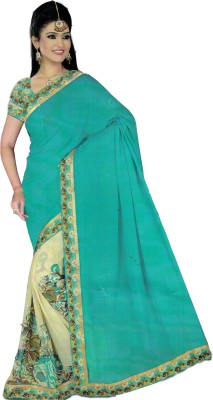 Zombom Digital Prints Daily Wear Pure Georgette Sari