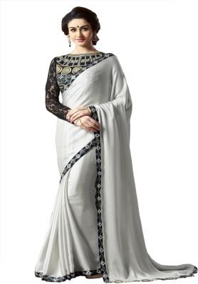 Sasural Self Design Fashion Chiffon Sari