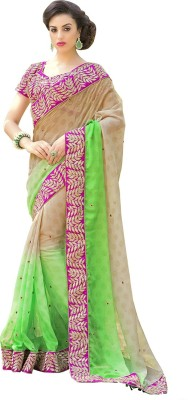 Elvira Embriodered Fashion Banarasi Silk Sari