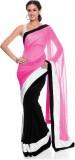 FabPandora Solid Fashion Georgette Saree...