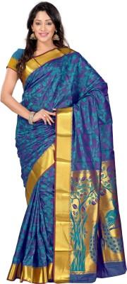 Varkala Silk Sarees Woven Kanjivaram Handloom Art Silk Sari