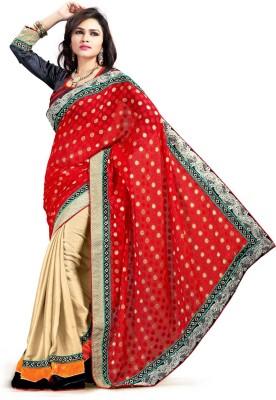 Nakhrali Designer Saree Embriodered Bhagalpuri Viscose Sari