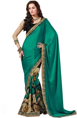 Areum Printed Bollywood Satin Sari