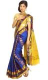 Mahaveersilkcreations Woven Kanjivaram S...