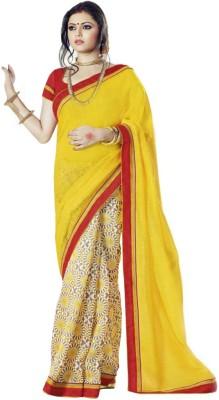 Nistulaa Printed Bhagalpuri Handloom Silk Sari