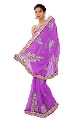 Shri Narayan Fashions Embriodered Fashion Synthetic Sari