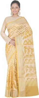 SSPK Woven Banarasi Handloom Jacquard Sari