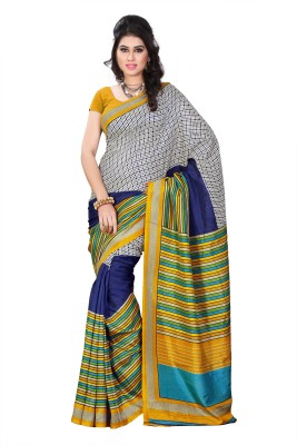 Diva Fashion-Surat Printed Daily Wear Handloom Art Silk Sari