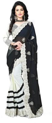 MKS Embriodered Bollywood Cotton Sari