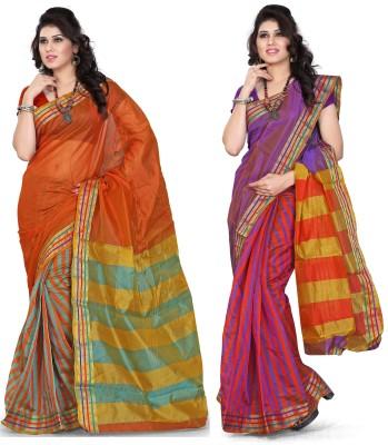 Weavedeal Woven Manipuri Silk Cotton Blend Sari