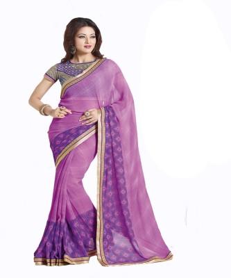 Amayra Fashions Printed Fashion Georgette Sari