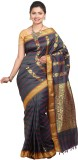 Tusk Printed Kanjivaram Silk Sari (Multi...
