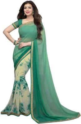 Aryaa Fashion Printed Bollywood Georgette Sari