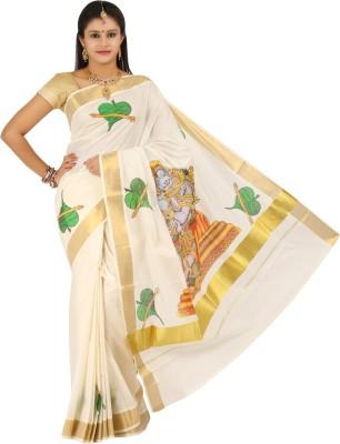 Aadrika Printed Fashion Cotton Sari
