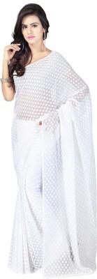 Goodfeel Polka Print Fashion Jacquard Sari