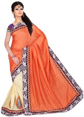 Looks & Likes Self Design Fashion Handloom Jute Sari