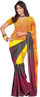 Firstloot Printed Daily Wear Georgette Sari