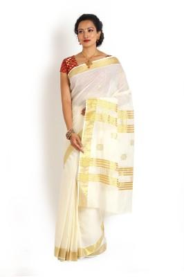 Ennthra Embellished Daily Wear Cotton Sari