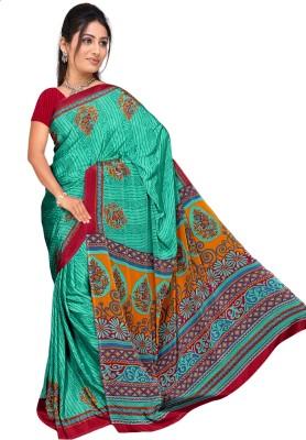 Vardan Prints Printed Bollywood Crepe Sari