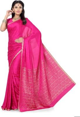 Arjuns Self Design Daily Wear Crepe Sari