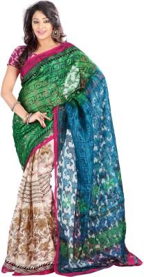 Khodel Printed Daily Wear Art Silk Sari