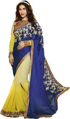 Ethnic Era Self Design Bollywood Georgette Sari