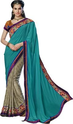 Moh Manthan Self Design Fashion Chiffon, Jacquard Sari