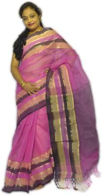 Fashion Gallery Solid Tangail Handloom Cotton Sari
