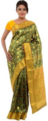 Annapurna Sarees Self Design Kanjivaram Art Silk Sari