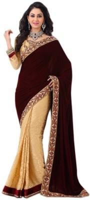 Sapphire Retail Embriodered Fashion Velvet Sari