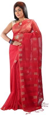 Hawai Checkered Chanderi Cotton Sari