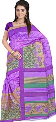 Sanju Sarees Printed Fashion Silk Sari