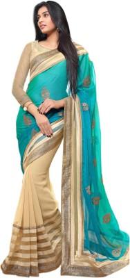 Taanshi Printed Bollywood Georgette Sari