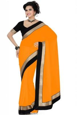 Lolla Fashion Embellished Bollywood Chiffon Sari