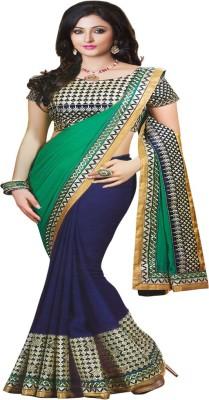 STYLO SAREES Self Design Fashion Georgette Sari