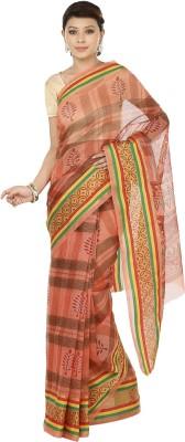 Sri Sai Vastra Printed Daily Wear Silk, Cotton Sari